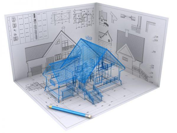 трехмерное моделирование дома с помощью BIM технологии